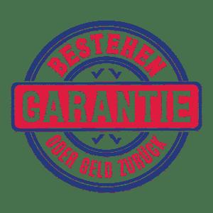 Bestehensgarantie | Bestehen oder Geld zurück