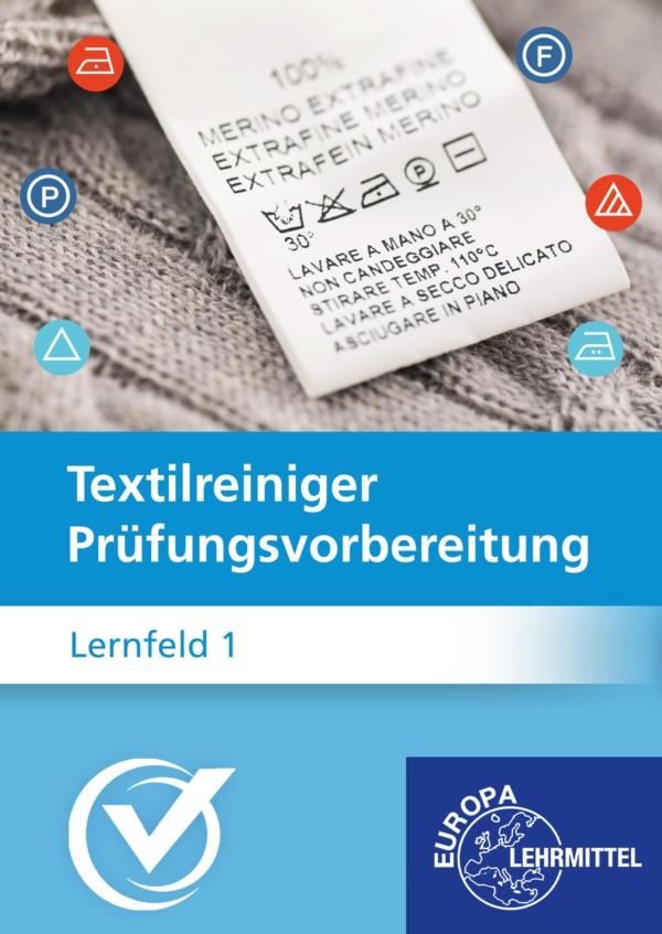 Cover Textilreiniger Prüfungsvorbereitung Lernfeld 1