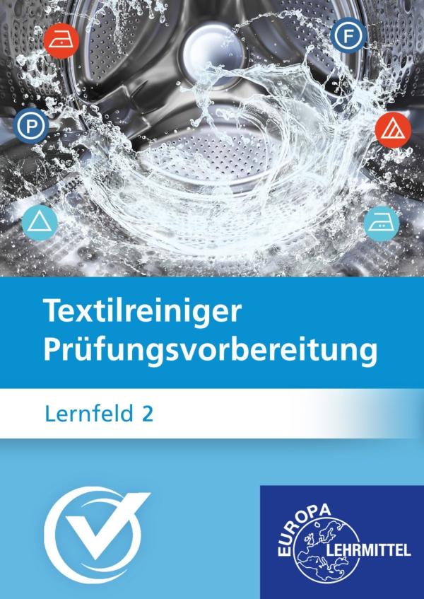 Cover Textilreiniger Prüfungsvorbereitung Lernfeld 2