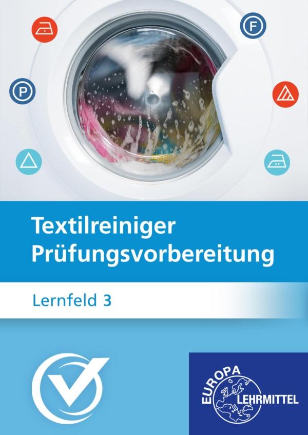 Cover Textilreiniger Prüfungsvorbereitung Lernfeld 3