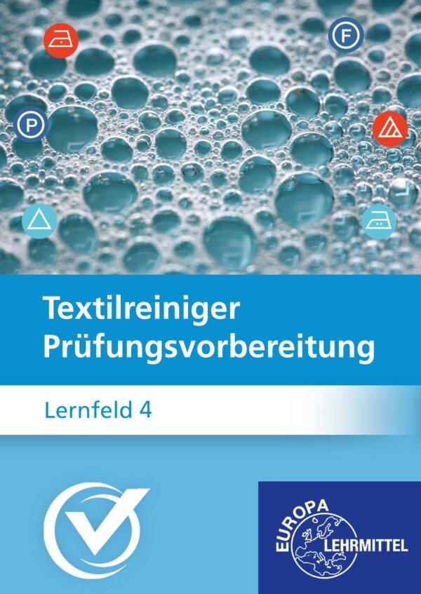 Cover Textilreiniger Prüfungsvorbereitung Lernfeld 4