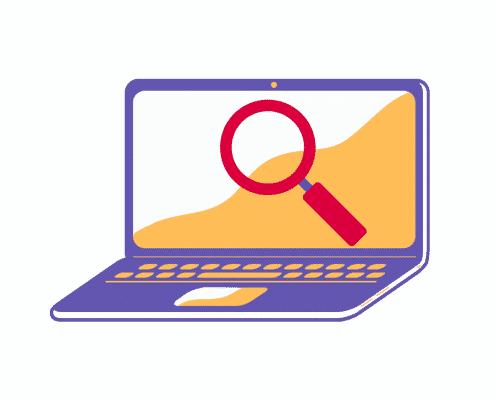 Die neue Suchfunktion in Online-Kursen